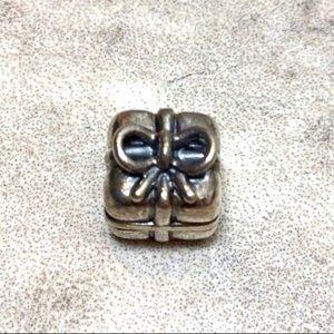 Pandora Sterling Silver Present Gift Box Charm